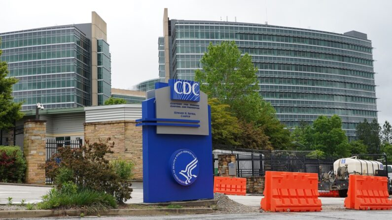 La sede de los Centros para el Control de Enfermedades (CDC), en Atlanta, Georgia, el 23 de abril de 2020. (Tami Chappell/Getty Images)
