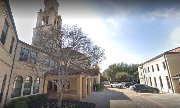 La Iglesia Católica de la Santísima Trinidad en Dallas. (Google Maps)