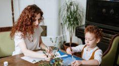 Conéctese con sus hijos creando arte