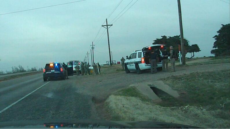 Un hombre de Arizona fue arrestado en las afueras de Idalou, Texas, después de presuntamente retener a los soldados de la Guardia Nacional a punta de pistola, el 22 de marzo de 2021. (Departamento de Policía de Idalou)