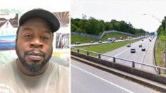 """Transeúnte hace bajar a un hombre a punto de suicidarse de un puente: """"No estaba ahí para juzgarlo"""""""