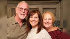 Pareja de novios de la secundaria se reencuentra con su hija biológica que dieron en adopción hace 50 años