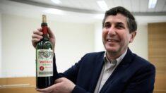 Una botella de vino fue lanzada al espacio: así es como sabe ahora
