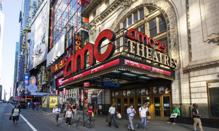 El AMC Empire 25 en la ciudad de Nueva York, el 23 de agosto de 2016. (Samira Bouaou/The Epoch Times)
