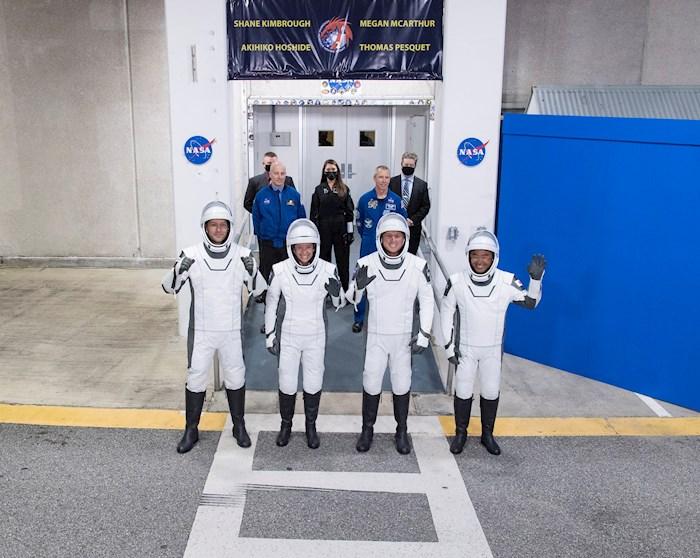Despega de Florida la segunda misión tripulada de la NASA y SpaceX a la EEI