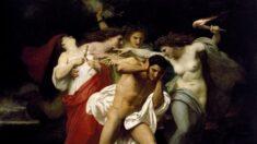 """Los infortunios de la venganza: """"Orestes perseguido por las Furias"""""""