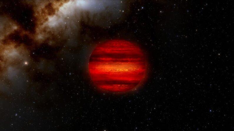 """Imagen cedida de enanas marrones, a menudo llamadas """"estrellas fallidas"""". EFE/NOIRLab/NSF/AURA/J. da Silva"""