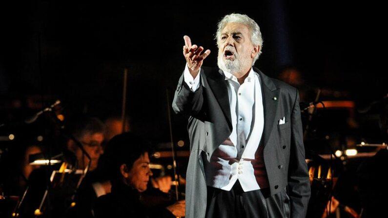 El tenor Plácido Domingo. EFE/EPA/ENRICO MARTINELLI/ Archivo