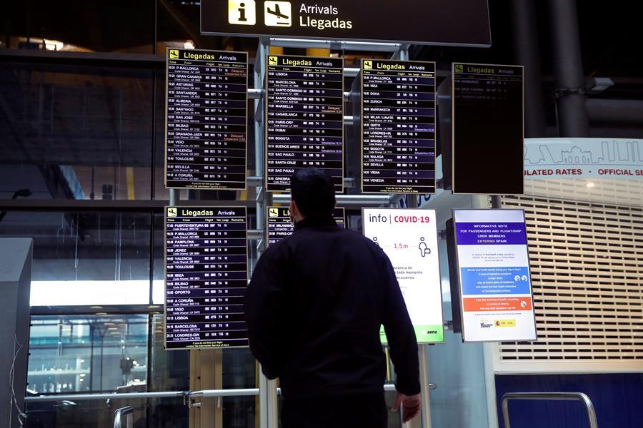 España prorroga al 11 de mayo las limitaciones a vuelos de Brasil y Sudáfrica