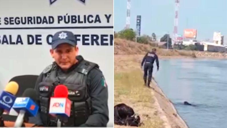 Captura de pantalla. (Cortesía de Secretaría de Seguridad Pública y Tránsito Municipal Culiacán)