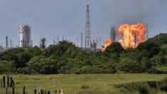 Registran explosión en planta de Petróleos Mexicanos en estado de Veracruz