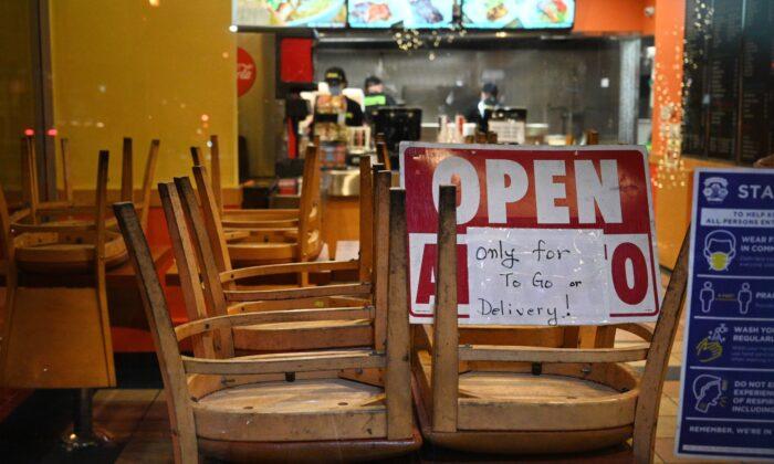 Restaurantes de EE.UU. piden al Congreso más fondos para sobrevivir en tiempos inciertos
