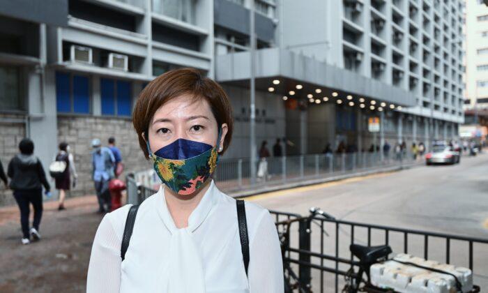 Sarah Liang, reportera de The Epoch Times en Hong Kong, el 27 de abril de 2021. (Sarah Liang/The Epoch Times)