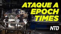 NTD Noticias: Intrusos atacan The Epoch Times en HK; Arizona demanda a Biden por órdenes de inmigración