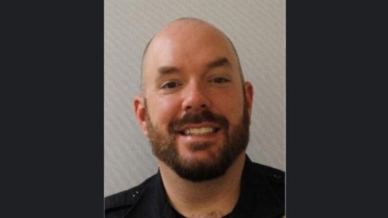 Una fotografía facilitada por la Policía del Capitolio de EE.UU. (USCP) muestra al oficial William 'Billy' Evans, que murió después de que un vehículo chocó contra una barricada frente al Capitolio de EE.UU. en Washington, D.C., el 2 de abril de 2021. (EFE/EPA/USCP)