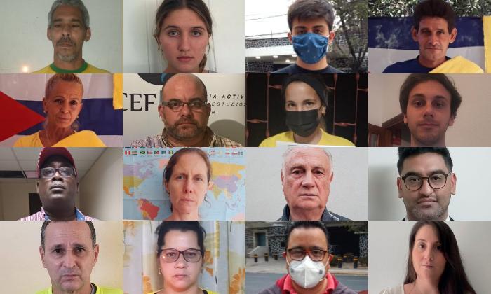 """""""Libertad para los 47"""": Países hispanos se manifiestan en apoyo a activistas prodemocracia en Hong Kong"""