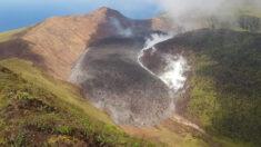 El volcán Soufriere en San Vicente y las Granadinas entra en erupción
