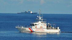 Filipinas investiga persecución a un barco civil por parte de la Armada china