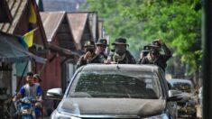 Bombardeos empujan a miles de birmanos a frontera con Tailandia
