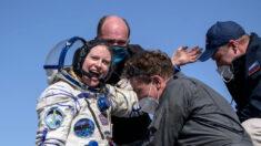 Astronautas de Estados Unidos y Rusia regresan a la Tierra desde Estación Espacial