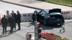 Muere policía de Capitolio y sospechoso es abatido tras estrellarse contra barrera del Capitolio: jefe