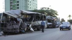 Al menos 20 muertos al colisionar un autobús y un camión en el sur de Egipto