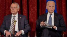 """Harry Reid advierte a Biden respecto a ampliar la Corte Suprema: """"Es mejor ser muy, muy cuidadosos"""""""