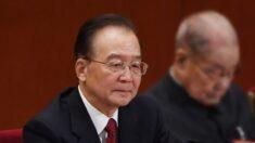 Censuran al ex primer ministro chino Wen Jiabao