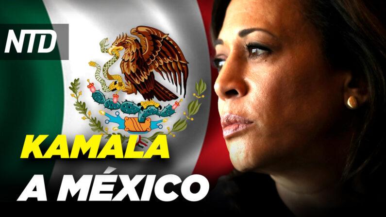 Kamala Harris visitará México y Guatemala; CNN admite agenda contra Gaetz| NTD-noticiero en español.