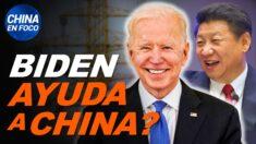 China en Foco: Plan de Biden ayudaría a China y quitaría trabajos a EE.UU.; Niña sola y en peligro