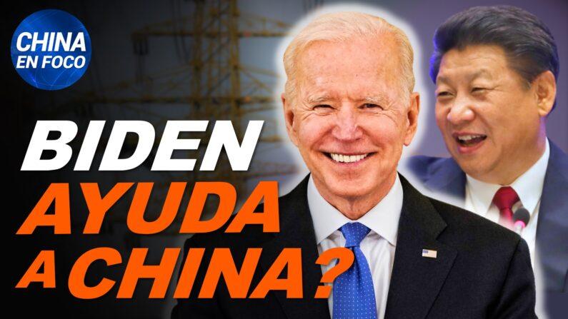 Plan de Biden ayudaría a China y quitaría trabajos a EE.UU.; Niña sola y en peligro. (China en Foco/NTD en Español)