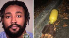 Acusan de intento de asesinato a hombre que lanzó bombas incendiarias a la policía en Portland