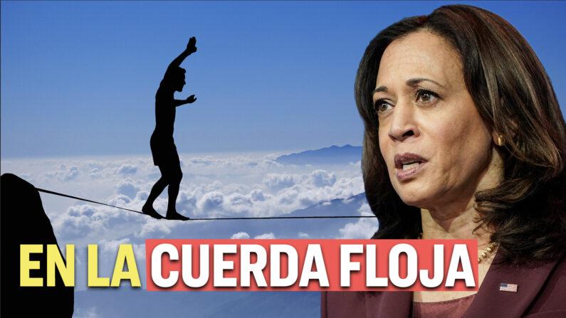 Kamala Harris tiene problemas con legisladores por no visitar la frontera sur. (Al Descubierto/The Epoch Times en Español)