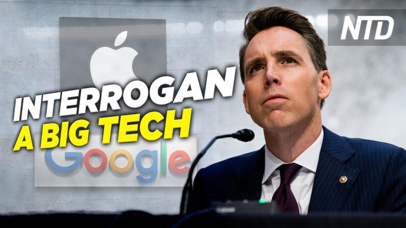 NTD Noticias: Senado interroga a Apple y Google; Cámara aprueba proyecto de ley estatal de DC (NTD Noticias/NTD en Español)