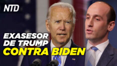 NTD Noticias: Exasesor de Trump ayuda a demandar a Biden; Investigarán al testigo de Chauvin