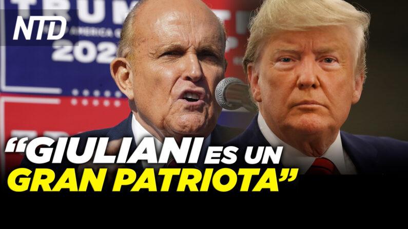 """Giuliani: DOJ utiliza tácticas """"dictatoriales""""; Sen. Cruz: No más dinero de corporaciones   NTD noticiero en español"""