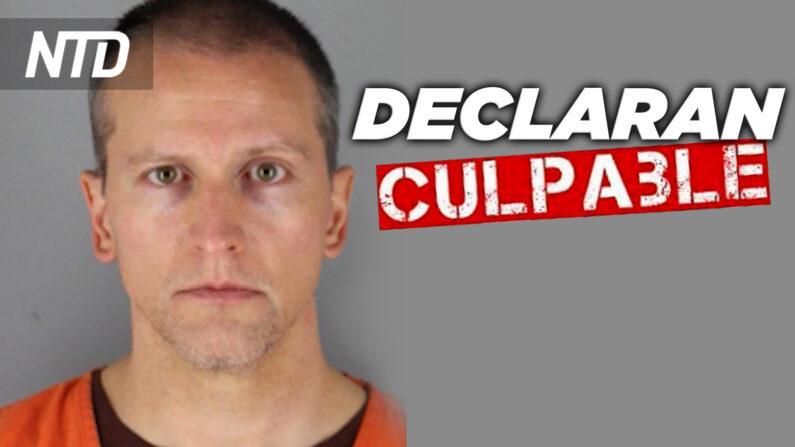 NTD Noticias: Anuncian veredicto a Dereck Chauvin; Ron Desantis promulga ley antidisturbios en Florida