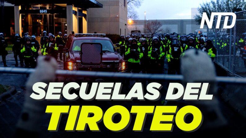 Tras tiroteo policial en Minnesota despiden a su administrador; C.S. impide que traigan menores|NTD-noticiero en español