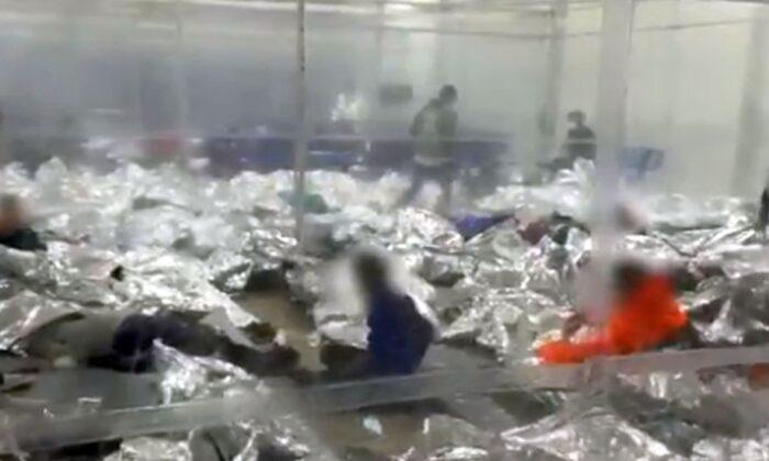 """Principal republicano postea video de """"abuso infantil"""" en instalaciones de Patrulla Fronteriza de Texas"""