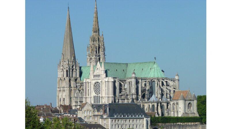 Catedral de Nuestra Señora de Chartres, Francia. Arquitectura gótica. (Olvr (CC BY-SA 3.0))