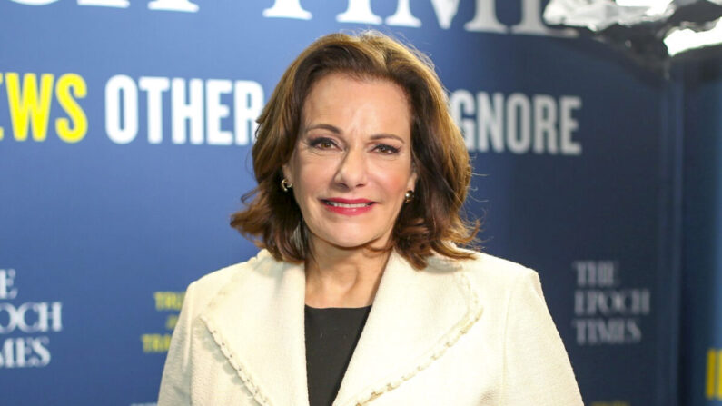 "KT McFarland, exasesora adjunta de seguridad nacional del presidente Trump y autora de ""Revolution: Trump, Washington and 'We the People'"". (Brendon Fallon/The Epoch Times)"