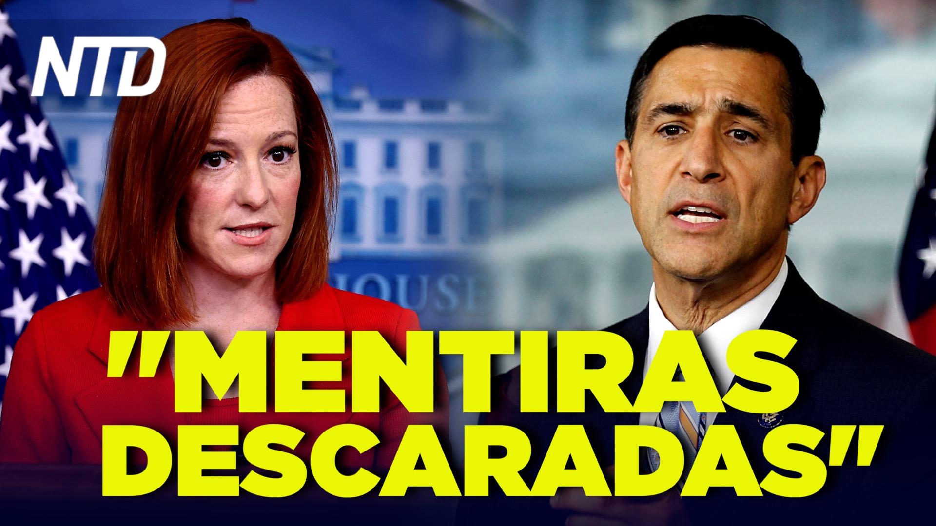 NTD Noticias: Psaki: No hubo acuerdos con México y Centroamérica; Caucus para seguir pasos de Trump