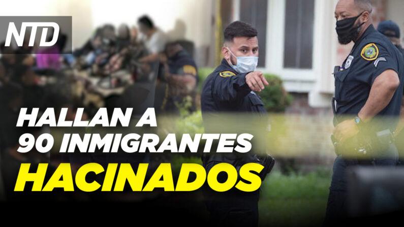 NTD Noticias: Hallan a 90 inmigrantes hacinados en Texas; Scott: No a los sueños socialistas (NTD en Español/NTD Noticias)
