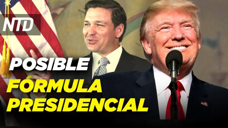 NTD Noticias: Trump: DeSantis posible compañero de fórmula; Tiroteo en NC deja 5 muertos (NTD Noticias/NTD en Español)