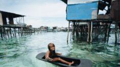 Los Bajau, la tribu que pasa gran parte de su vida sobre el agua: ¡Pueden sumergirse hasta 13 minutos!