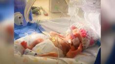 Bebé prematura que perdió a su hermano al nacer regresa a casa después de 408 días en el hospital