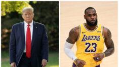 """LeBron debe """"centrarse en el baloncesto"""", dice Trump tras tuit del jugador sobre acción policial"""