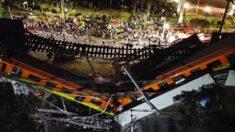 Asciende a 26 la cifra de muertos por derrumbe en metro de Ciudad de México