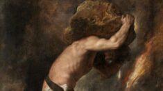 """El peso de la adicción: La obra """"Sísifo"""" de Tiziano"""