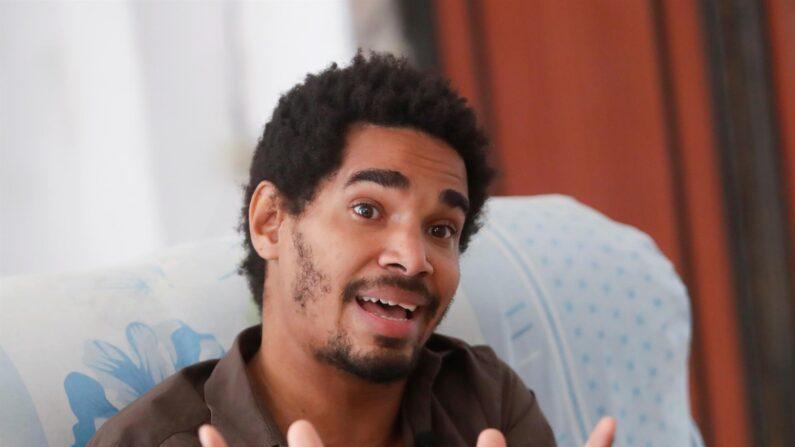 El activista cubano Luis Manuel Otero Alcántara en una foto de archivo. (EFE/Yander Zamora)